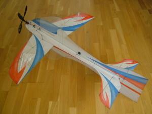 F3P Modelvliegtuig (rechten: Donatas Pauzuolis).